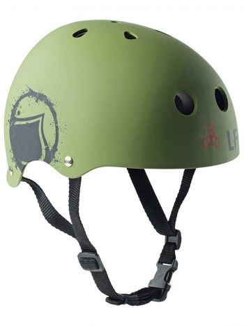 Capacete Liquid Force Core Verde Oliva