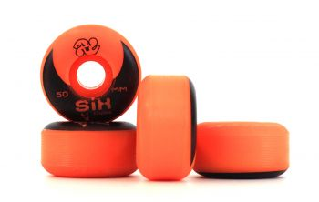 Roda Skate Six Trucks Injetada Pu Core 50MM Laranja