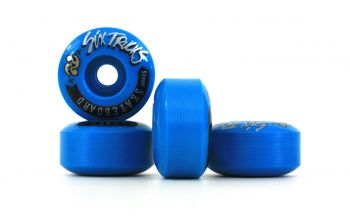 Roda Skate Six Trucks PU 51MM Azul