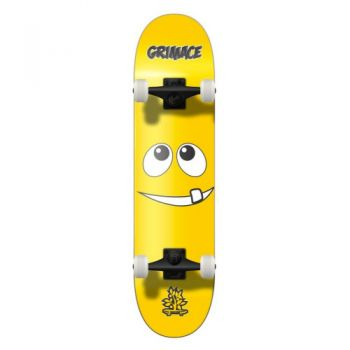 Skate Completo  Wood Light Grimace Amarelo 7.9