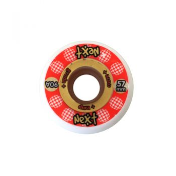 Roda Patins com Miolo Next White 57mm 90A