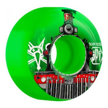 Roda Skate Bones SPF Schroeder Train 58MM Verde