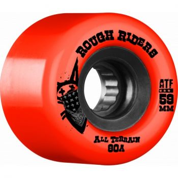 Roda Skate Bones Rough Rider 59mm Vermelha