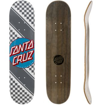 Shape Santa Cruz Power Lite Check Stripe Blue 8.8
