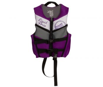 Colete de Wakeboard Liquid Force Dream Child CGA Roxo