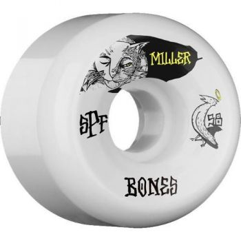 Roda Skate Bones SFP Miller Guilty Cat 58MM P5