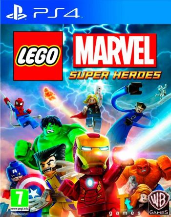 Lego Marvel Super Heroes Videogame PS4