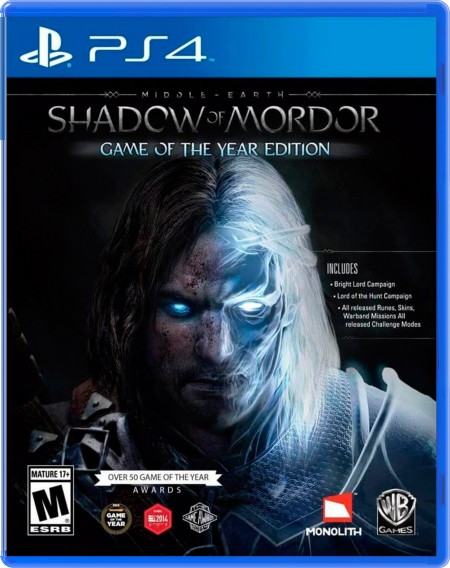 Shadow Of Mordor PS4  - foto principal 1