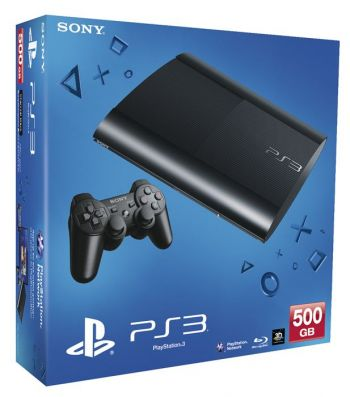 Playstation 3 Super Slim seminovo  500 gb com garantia de 6 meses