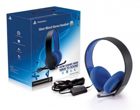 Headset Silver 7.1 Sony PS3/PS4  - foto principal 2