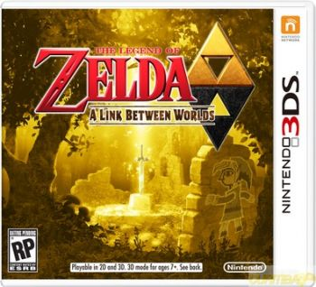 Zelda a Link Between Worlds 3DS