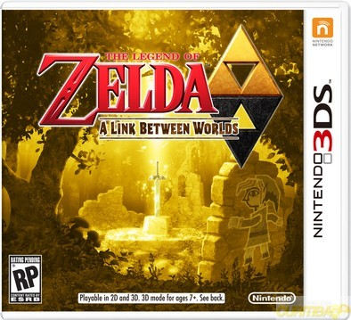 Zelda a Link Between Worlds 3DS  - foto principal 1