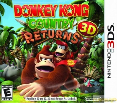 Donkey Kong Country Returns 3DS  - foto principal 1