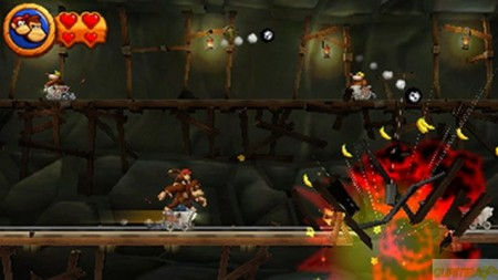 Donkey Kong Country Returns 3DS  - foto principal 4
