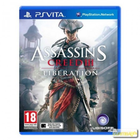 Assassins Creed III: Liberation - PS VITA  - foto principal 1