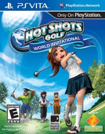 Hot Shots Golf: World Invitational PS Vita