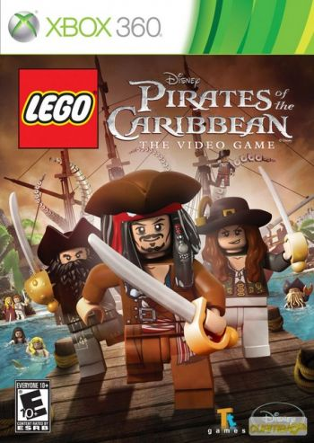 Lego Pirates of the Caribbean Videogame Xbox 360