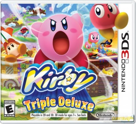 Kirby Triple Deluxe - 3DS  - foto principal 1