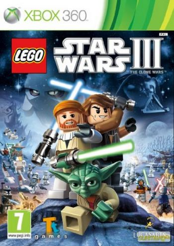 LEGO Star Wars III: The Clone Wars Videogame Xbox 360