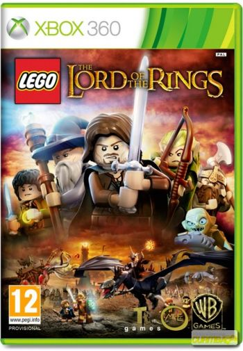 LEGO The Lord of the Rings Videogame Xbox 360