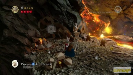 LEGO The Lord of the Rings Videogame Xbox 360  - foto principal 2