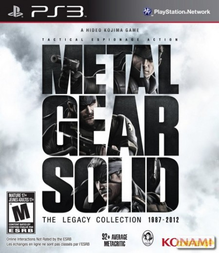 Metal Gear Solid: The Legacy Collection - PS3  - foto principal 1