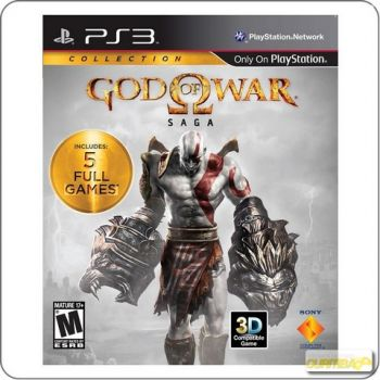 God Of War Saga 5 em 1 - PS3