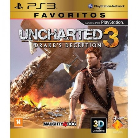 Uncharted 3: Drake's Deception - PS3  - foto principal 1