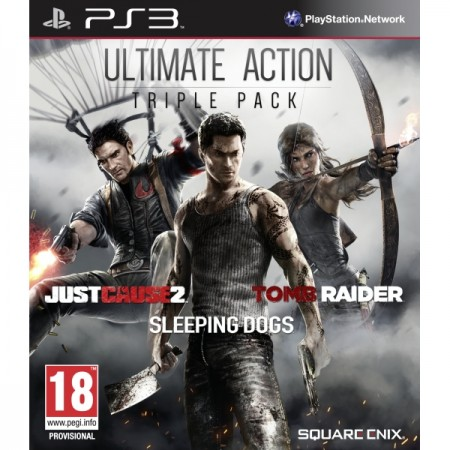 Ultimate Action Triple Pack - PS3  - foto principal 1