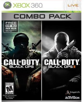 Call of Duy: Black OPS Combo Pack - Xbox 360