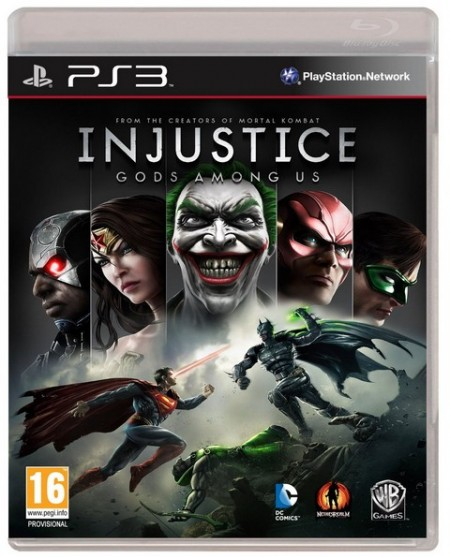 Injustice Gods Among Us - PS3  - foto principal 1
