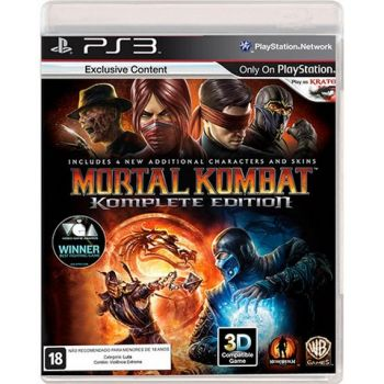 Mortal Kombat - Komplete Edition - PS3