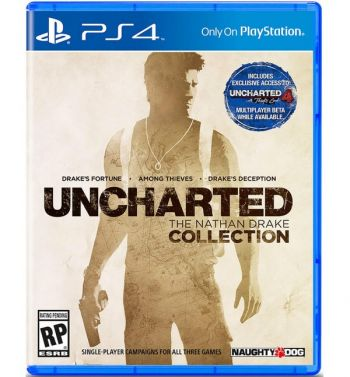 UNCHARTED 1,2 e 3 The Nathan Drake Collection - PS4