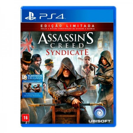 Assassins`s Creed Syndicate - PS4  - foto principal 1