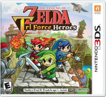 Zelda: Tri Force Heroes - 3DS