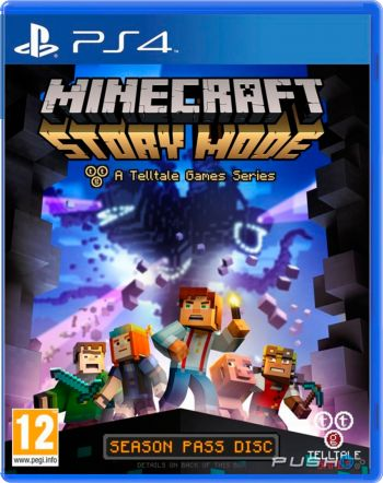 Minecraft: Story Mode - Season Pass - PS4