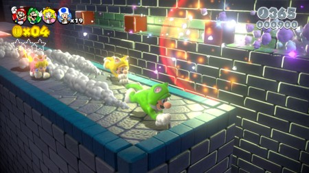 SUPER MARIO 3D WORLD - WiiU  - foto principal 4