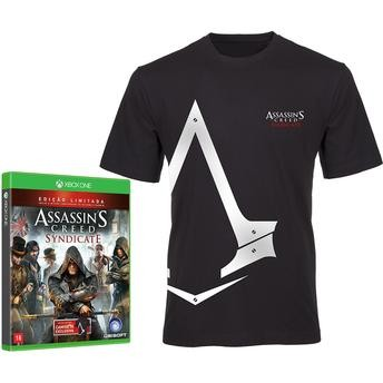 Assassins`s Creed Syndicate Edição Limitada com camiseta- Xbox One  - foto principal 2