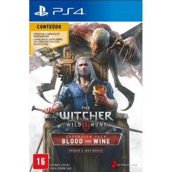 The Witcher 3: Wild Hunt – Blood and Wine - PS4