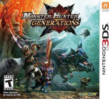 Monster Hunter Generations - 3DS