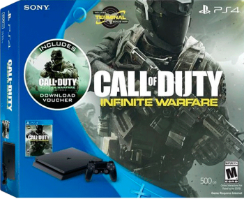 Playstation 4 Slim 500 GB com 2 Jogos Call of Duty