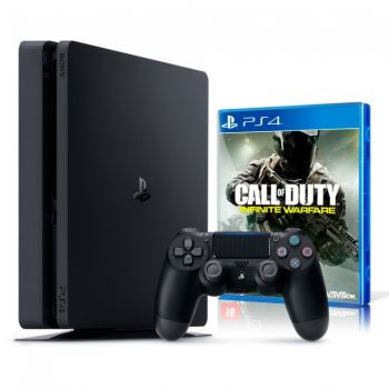 Playstation 4 Slim 500 GB com Jogo Call of Duty  - foto 8