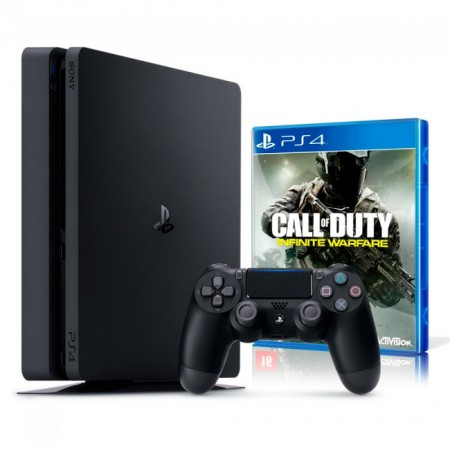 Playstation 4 Slim 500 GB com Jogo Call of Duty  - foto principal 2