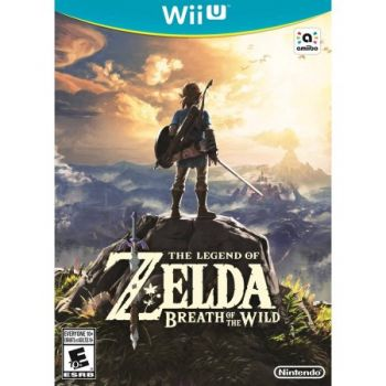 The Legend of Zelda: Breath of the Wild - Wii U Seminovo