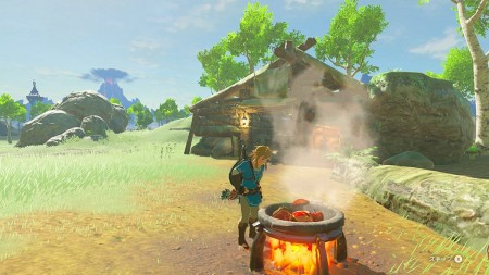 The Legend of Zelda: Breath of the Wild - Wii U Seminovo  - foto principal 10