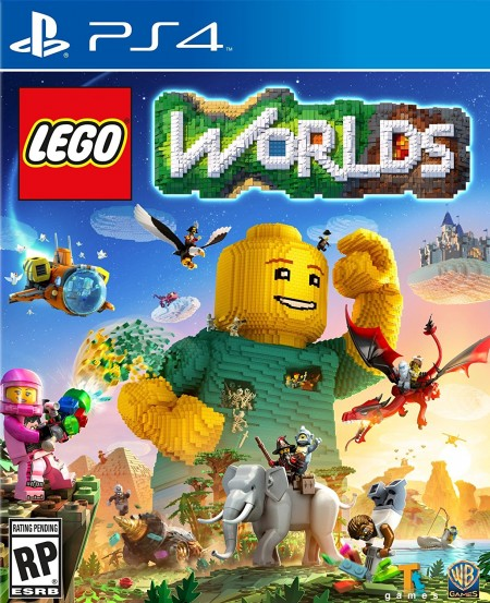 LEGO Worlds - PS4  - foto principal 1