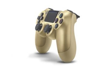 Controle Dual Shock 4 Gold-PS4  - foto 5