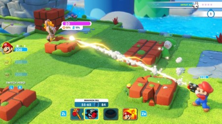Mario + Rabbids Kingdom Battle - Nintendo Switch  - foto principal 2
