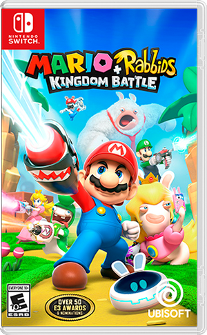 Mario + Rabbids Kingdom Battle - Nintendo Switch  - foto principal 1