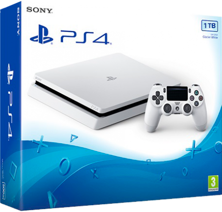 Playstation 4 Slim 1TB Branco  - foto principal 1
